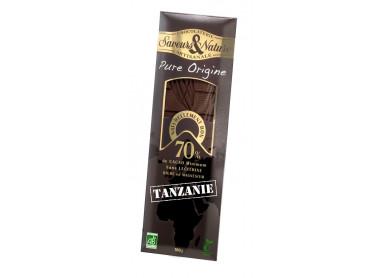 CHOCOLAT NOIR GRD CRU TANZANIE 100G
