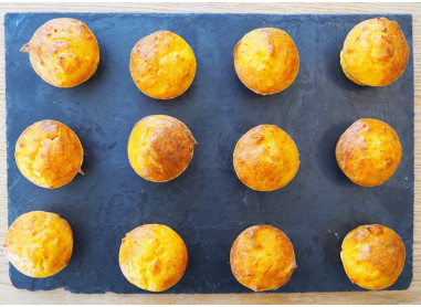 MUFFINS DE COURGE