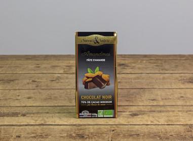 AMANDINES CHOCOLAT NOIR & PATE D'AMANDE