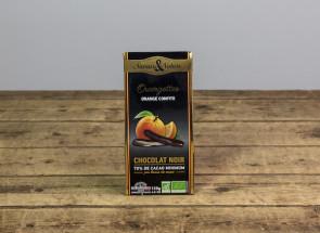 ORANGETTES CHOCOLAT NOIR...