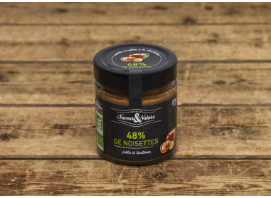 PATE A TARTINER AUX NOISETTES 48 % 225 G