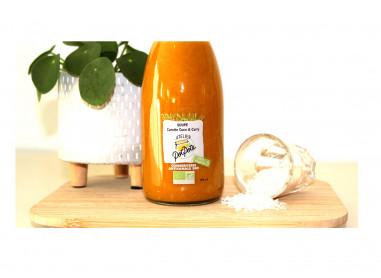 Soupe carotte coco et curry 25 Cl