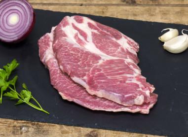 Côtes de porc échine (x2) 400g env -...