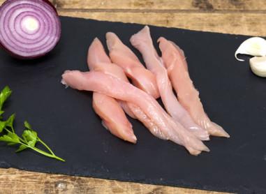 Aiguillettes de poulet x4 210g env -...