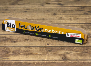 PATE FEUILLETEE PUR BEURRE AUX...