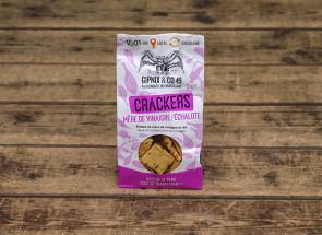 Crackers vinaigre échalotes...