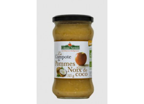 COMPOTE POMME COCO 315G -...
