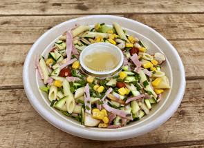 Salade repas penne au...