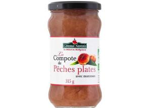COMPOTE PECHE PLATE 315G