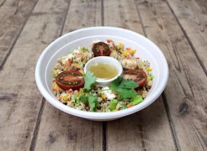 Salade de quinoa à la feta...