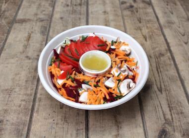 Salade fraîcheur (avec vinaigrette)