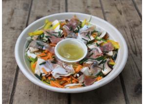Salade de fenouil au jambon...
